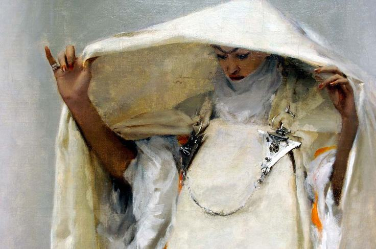 Sargent detail from Fumee d'Ambre Gris
