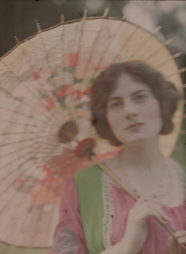 'The Japanese Parasol', c 1909.